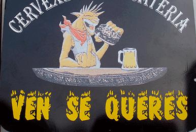 Foto Rótulo Cervecería Bocatería